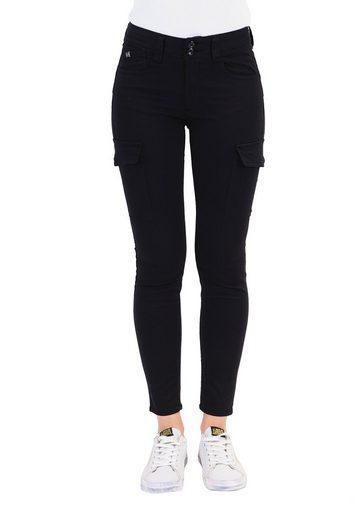 Le Temps Des Cerises Slim-fit-Jeans »NAVY« mit praktischen Beintaschen