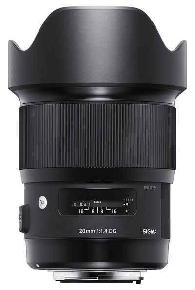 SIGMA »20mm f1,4 DG Art L-Mount« Objektiv