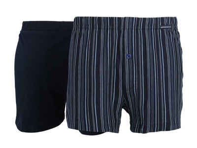 GÖTZBURG Boxershorts (2 Stück) Single Jersey Qualität