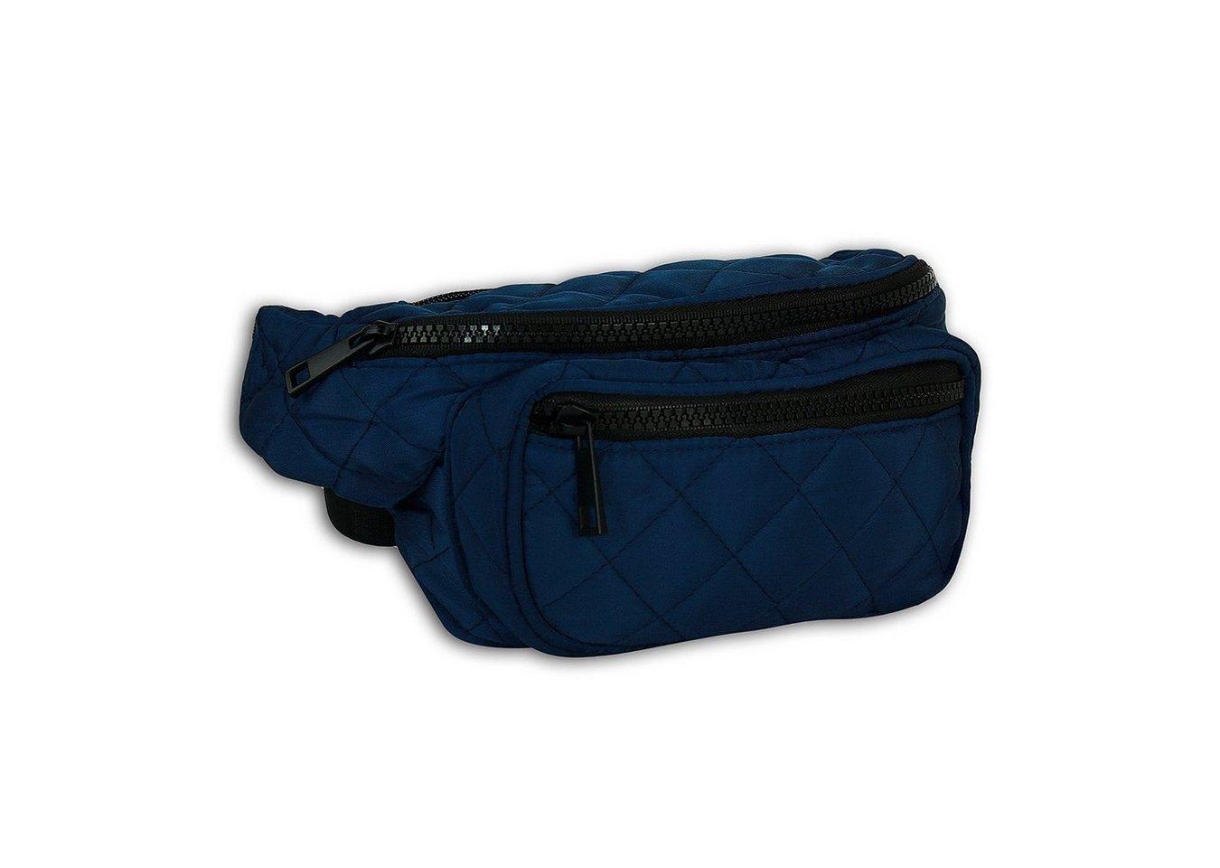 new bags -  Gürteltasche »OTD5026X  Damen Hüfttasche Gürteltasche« (Gürteltasche), Damen, Jugend Tasche blau, ca. 24cm x ca. 10cm