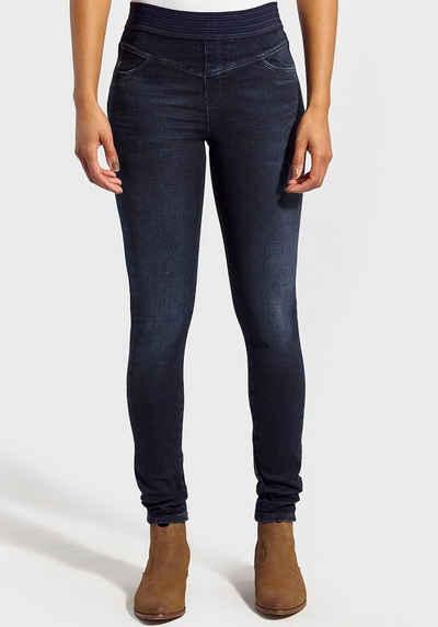 Kaporal Skinny-fit-Jeans »SABLE« mit bequemen Gummibund