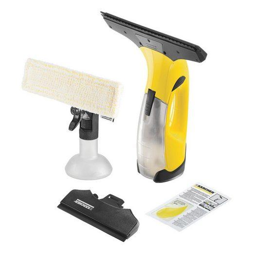 Kärcher Professional Dampfreiniger WV 2 Plus N, Akku-Fenstersauger für alle glatten Oberflächen