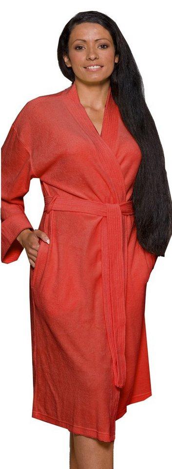 Aibrou Bademantel Damen mit Rei/ßverschluss Lange Morgenmantel Nachthemd Nachtw/äsche mit Taschen Flauschig Weiche Gem/ütliche Robe