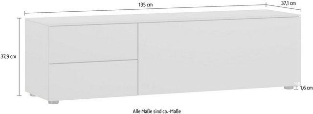 GALLERY M Lowboard »Merano« | Wohnzimmer > Schränke > Lowboards | GALLERY M
