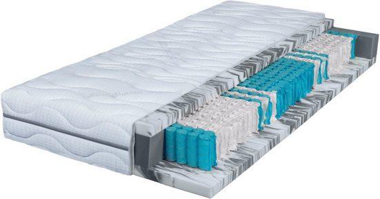 Taschenfederkernmatratze »Seasonsleep TFK 1000 Gel«, Breckle, 25 cm hoch, Raumgewicht: 50, 1000 Federn