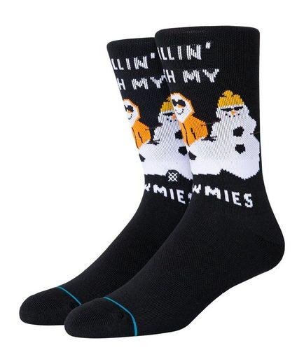Stance Freizeitsocken »Lifestyle Snowmies Chillin Socken«