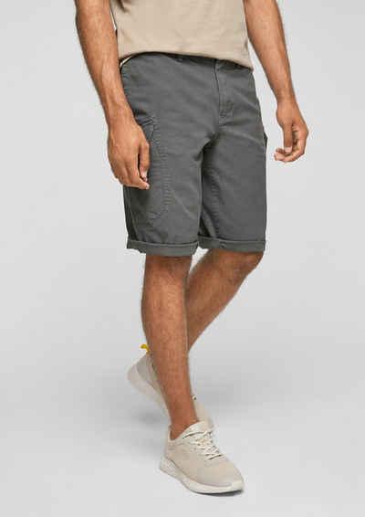 s.Oliver Shorts »Relaxed: Bermuda im Cargo-Stil« (1-tlg) Garment Dye
