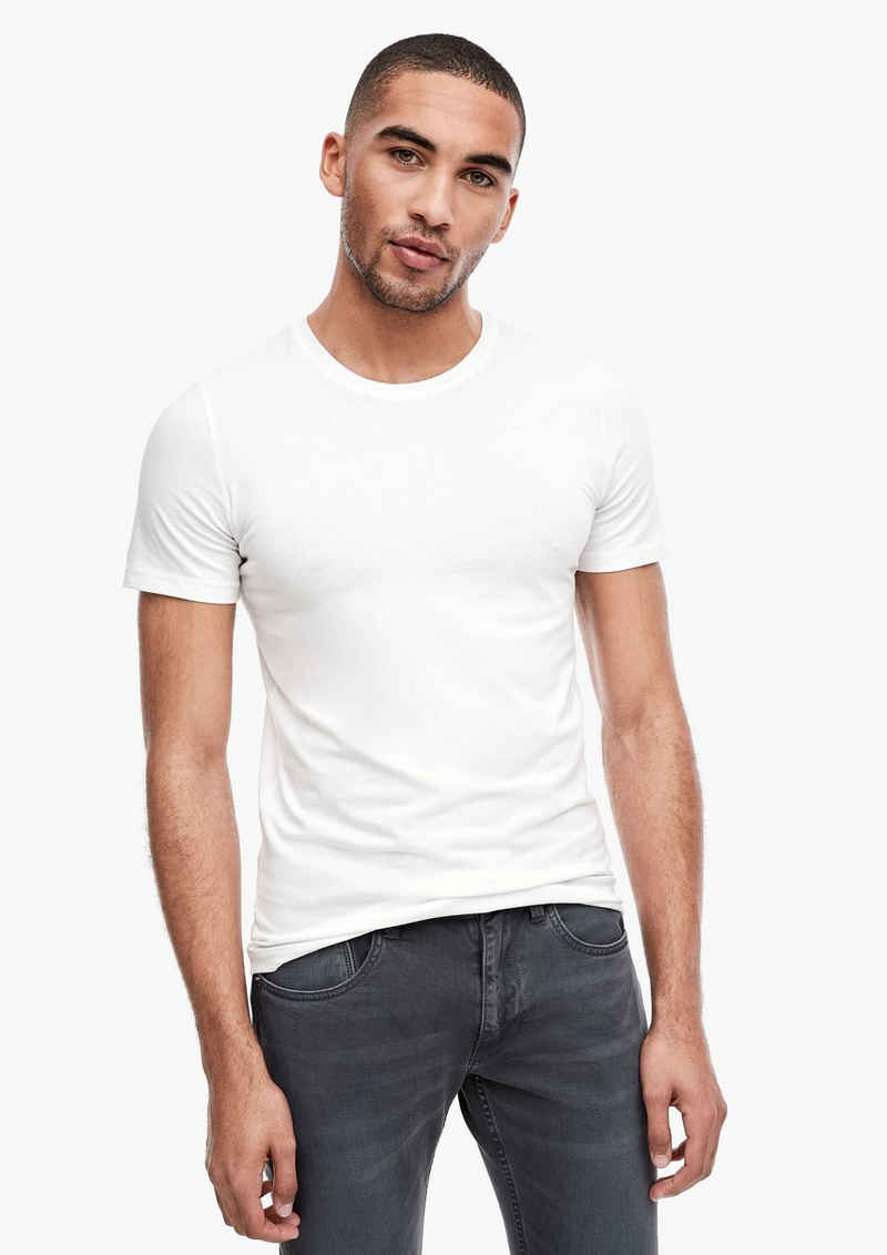 s.Oliver Kurzarmshirt »Basic-T-Shirts im Doppelpack« (1-tlg)