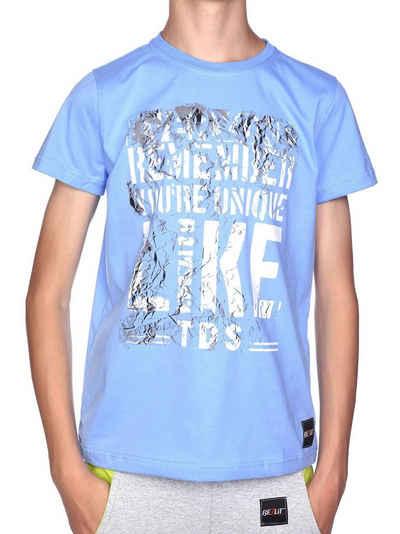 BEZLIT T-Shirt »Jungen T-Shirt mit Motiv Druck« (1-tlg) T-Shirt