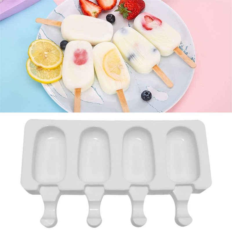 Sross Eisform »2 Stück Silikon-Eis am Stiel-Form, Eisform, Dessertform, Eisform, Silikon-Backform, DIY-Eis«, (2-tlg)