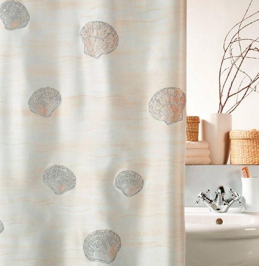 spirella Duschvorhang »ATLANTIS« Breite 180 cm, wasserabweisend