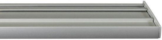 Gardinenschiene »Flächenvorhangschiene 2 - 5 lauf, spezial«, GARESA, 5-läufig, Wunschmaßlänge