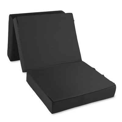 Bestschlaf Gästebett »Gästematratze Deluxe mit 4 cm Visko« Matratze: 75 x 195 x 15 cm Hocker: 75 x 65 x 45 cm
