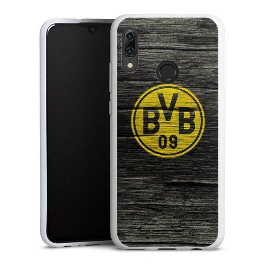 DeinDesign Handyhülle »BVB Holzoptik« Huawei Honor 10 Lite, Hülle Borussia Dortmund BVB Holzoptik