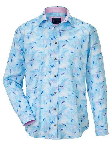 Schlussverkauf Babista Hemd mit modischem Haifisch-Print