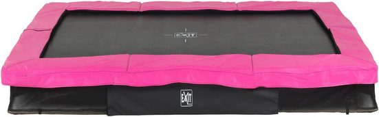 EXIT Bodentrampolin »Silhouette Ground«, BxT: 214x305 cm, rosa