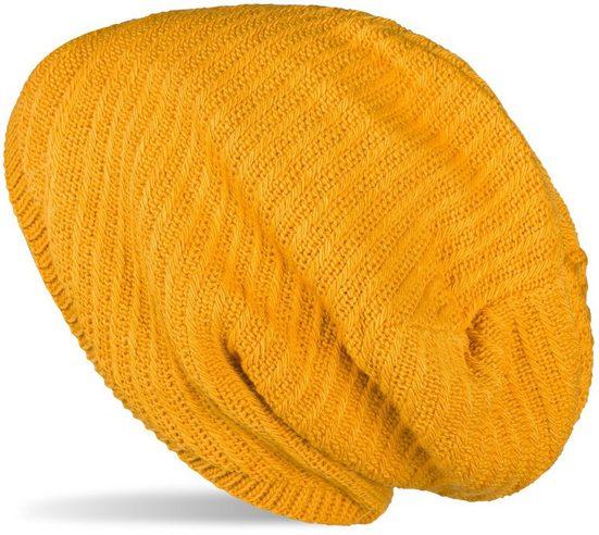 styleBREAKER Strickmütze »Strick Beanie Mütze mit Thermo-Fleece« Strick Beanie Mütze mit Thermo-Fleece