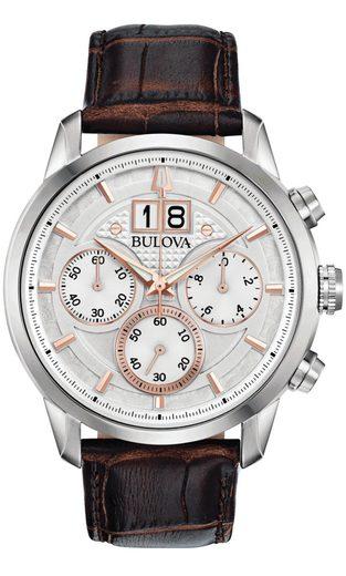 Bulova Chronograph »96B309«, Sutton Big Date Classic Chronograph