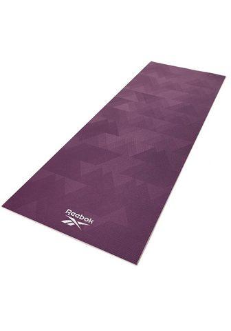 Reebok Yogamatte » Yogamatte su geometrinis M...