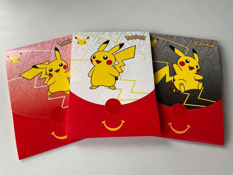 AMIGO Sammelkarte »Pokémon McDonalds Booster 2021 Deutsch Sammlerstück«