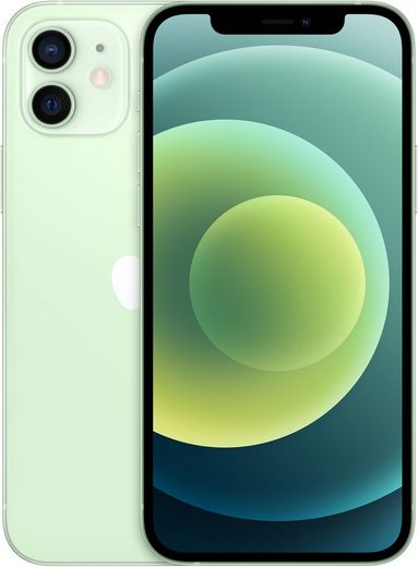 Apple iPhone 12 Smartphone (15,5 cm/6,1 Zoll, 256 GB Speicherplatz, 12 MP Kamera, ohna Strom Adapter, kompatibel mit AirPods, AirPods Pro, Earpods Kopfhörer)