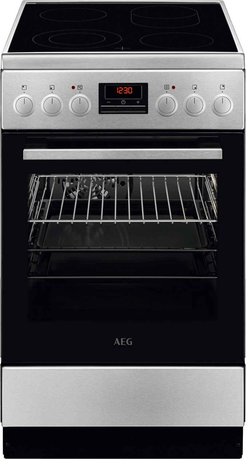 AEG Elektro-Standherd CCB5442CBM