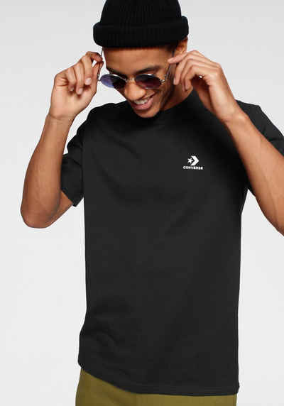 Converse T Shirt »MENS EMBROIDERED STAR CHEVRON LEFT CHEST TEE«