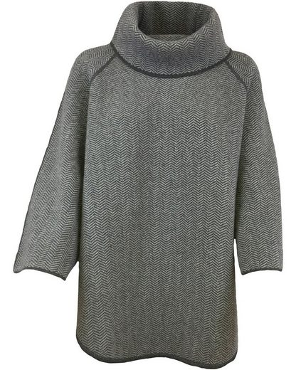 Georg Maier Poncho »Fischgrat-Poncho Polly«