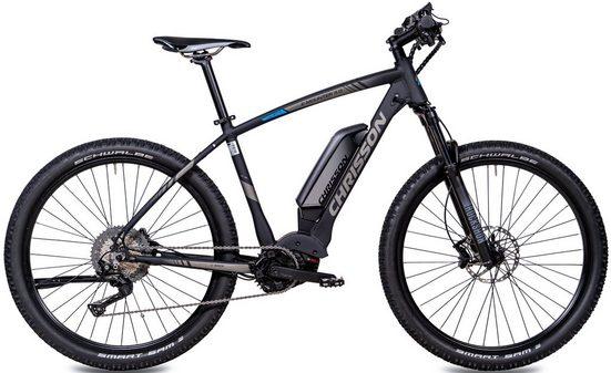 Chrisson E-Bike »E-MOUNTER 3.0«, 11 Gang Shimano Deore XT RD-M8000-SGS Schaltwerk, Kettenschaltung, Mittelmotor 250 W