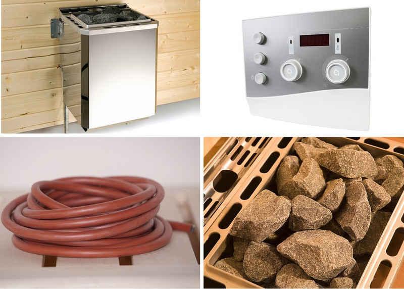 weka Bio-Saunaofen »Technikpaket 2«, 9 kW, externe Steuerung