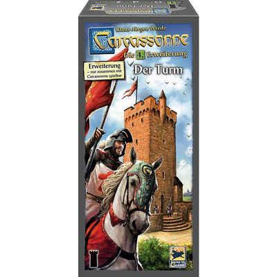 Hans im Glück Spiel, »Carcassonne, Der Turm, Erweiterung 4«