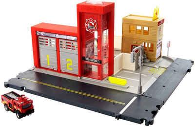 MATCHBOX Spiel-Feuerwehrwache »Feuerwache Spielset«, mit Licht- und Soundfunktion