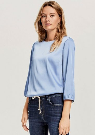 OPUS Shirtbluse »Fanoka« in edler, schimmernder Optik