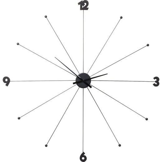 KARE Uhr »Wanduhr Like Umbrella Schwarz«