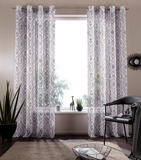 Vorhang »Nio«, my home, Ösen (1 Stück)