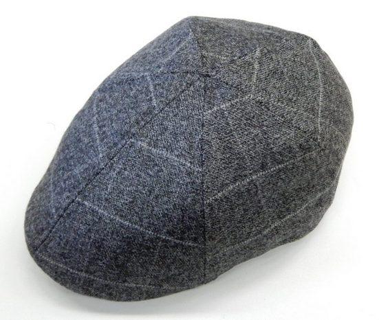 Chaplino Flat Cap in trendigen Karodesign