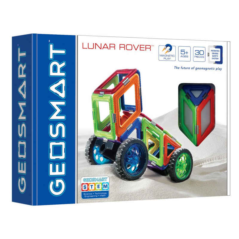 Smart Games Magnetspielbausteine »Geosmart Lunar Rover«, (30 St)