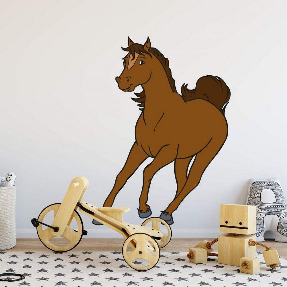 Bibi und Tina Wandtattoo »Bibi & Tina Wandsticker Kinderzimmer Pferd  Cleopatra Wanddeko Wandtattoo Mädchen« online kaufen   OTTO