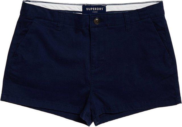 Hosen - Superdry Shorts »CHINO HOT SHORT« in modischem Chino Look › blau  - Onlineshop OTTO