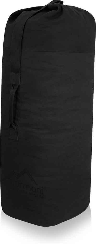 normani Packsack »US Canvas-Seesack 140 l Classic Sea III«, Duffle Bag US Seesack Canvas-Reisetasche Seemannssack Marinesack