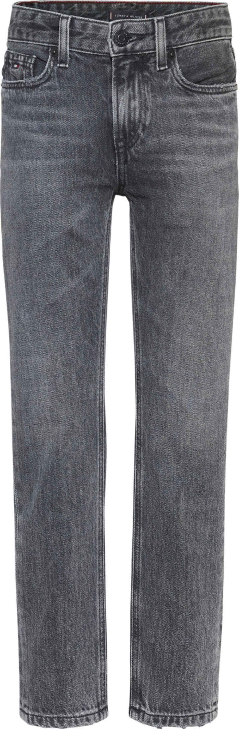 Tommy Hilfiger Stretch-Jeans mit Logo-Badge am Bund
