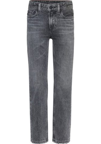 Tommy Hilfiger Stretch-Jeans su Logo-Badge ant Bund