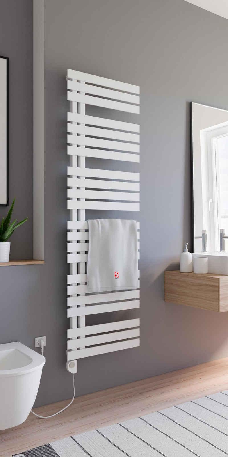 Schulte Elektrischer Badheizkörper »Design-Handtuchwärmekörper Breda«, inkl. Heizstab 3, steckerfertig