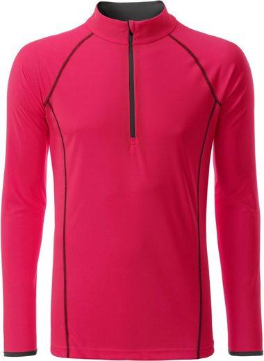 James & Nicholson Trainingsshirt »Langarm Funktionsshirt T-Shirt FaS50498«