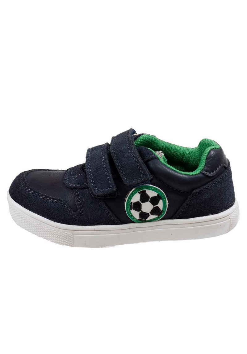Pio »Jungen Klett-Halbschuh Fussball« Sneaker