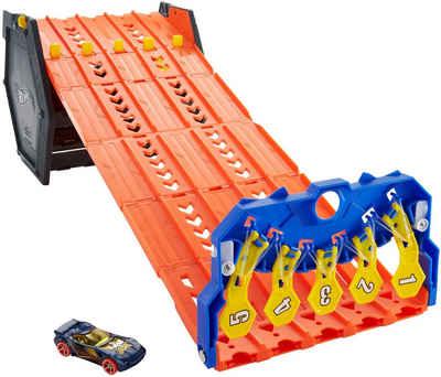 Hot Wheels Autorennbahn »2in1 Spielset & Box«, inkl. 1 Spielzeugauto