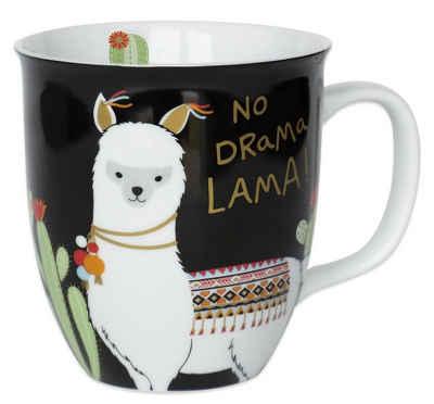 "Sheepworld Tasse »Sheepworld - Tasse ""No Drama Lama"" 0,4l (45544) Geschenk- Büro- Kaffee- Tasse«"
