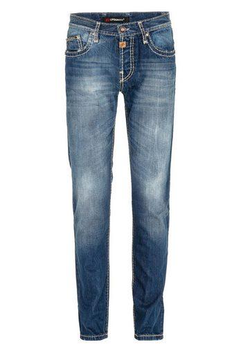 Cipo & Baxx Bequeme Jeans »Flow« mit Kontrastnähten