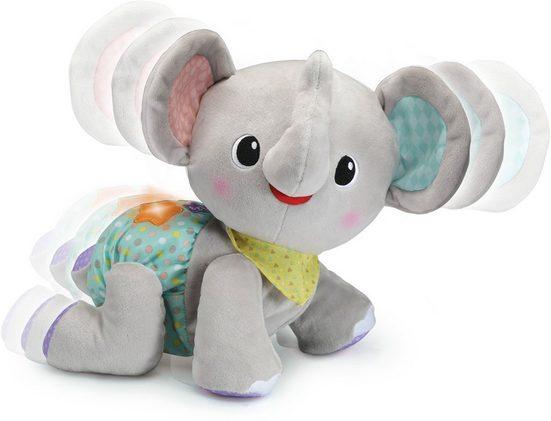 Vtech® Kuscheltier »Krabbel mit mir - Elefant, grau«