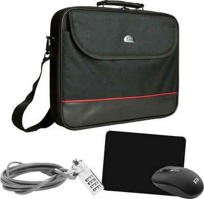 PEDEA Laptoptasche »Notebook-Tasche Starter Kit 43,9 cm (17,3 Zoll)«